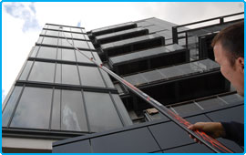 window cleaner in Prestbury